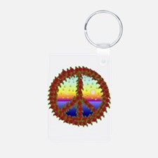 Peace Roses Keychains