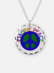 Imagine Peace Necklace