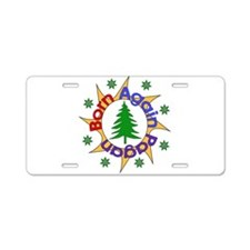 Born Again Pagan Aluminum License Plate