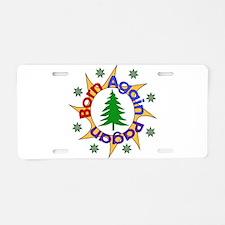 Born Again Pagan Aluminum License Plate