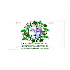Pagan Spring Goddess Aluminum License Plate