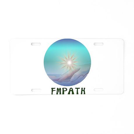 Empath Aluminum License Plate