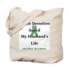 Husband Transplant Tote Bag