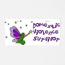 Domestic Violence Survivor Aluminum License Plate