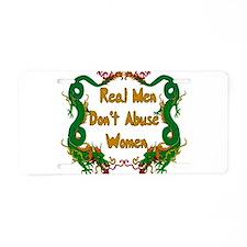 Ending Domestic Violence Aluminum License Plate
