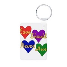 End Domestic Violence Keychains