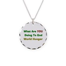 End World Hunger Necklace