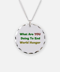 End World Hunger Necklace