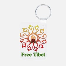 Free Tibet Candle Keychains