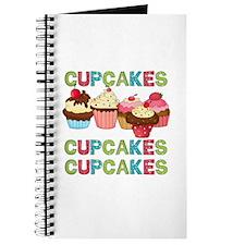 Cupcakes Cupcakes Cupcakes Journal