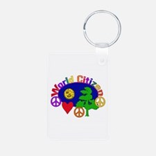 Citizen Of One World Keychains