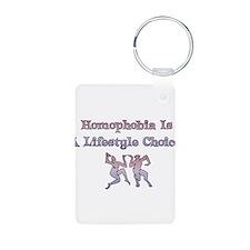 Homophobia Lifestyle Cho Keychains