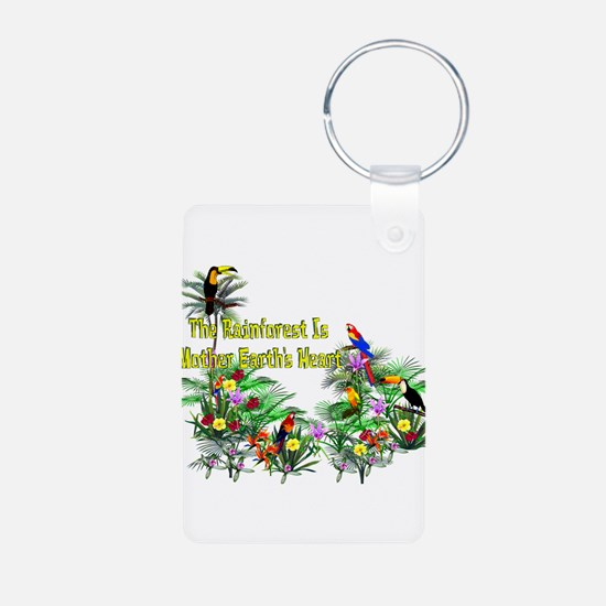 Save The Rainforest Keychains