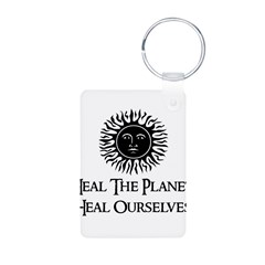 Heal The Planet Keychains