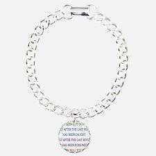 Rainbow Planet Quote Bracelet