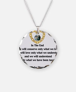 Baba Dioum's Quote Necklace