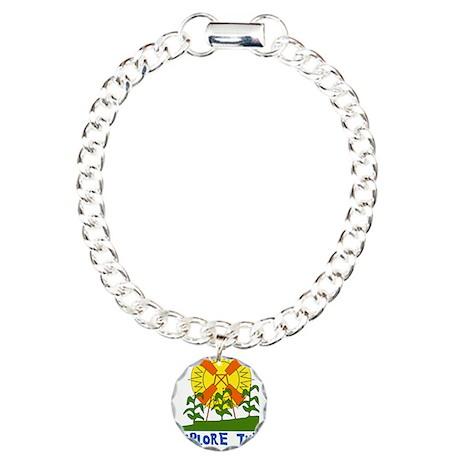 Alternative Energy Charm Bracelet, One Charm