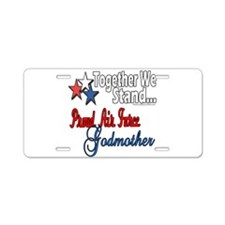 Air Force Godmother Aluminum License Plate