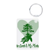 The Earth Is My Mother Keychains