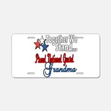 National Guard Grandma Aluminum License Plate