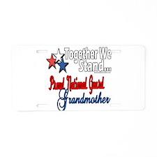 National Guard Grandma Aluminum License Plate