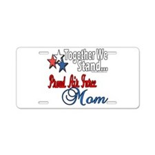 Air Force Mom Aluminum License Plate