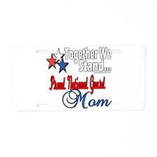 National Guard Mom Aluminum License Plate