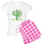 Earth Day Skulls Women's Light Pajamas