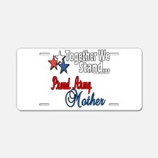 Proud Army Mommy Aluminum License Plate