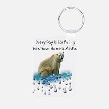 Homeless Polar Bears Keychains