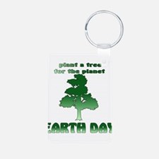 Plant An Earth Day Tree Keychains