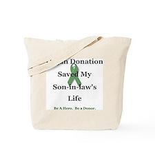 Son-in-law Transplant Tote Bag