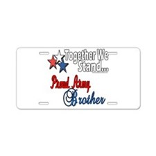 Army Brother Aluminum License Plate