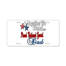 National Guard Father Aluminum License Plate