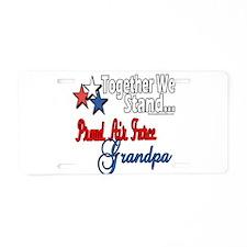 Air Force Grandpa Aluminum License Plate