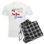 Marine Grandpa Men's Light Pajamas