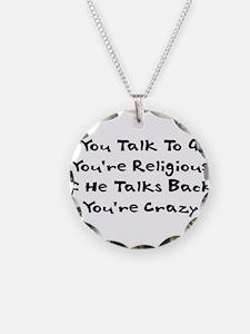 Anti-Religious Humor Necklace