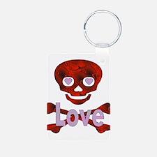 Love Skull Keychains