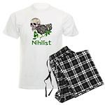Nihilist Skull Men's Light Pajamas