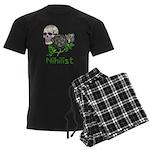 Nihilist Skull Men's Dark Pajamas