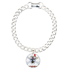 Pirate Skull and Crossbones Bracelet