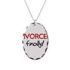 Divorced Finally Necklace