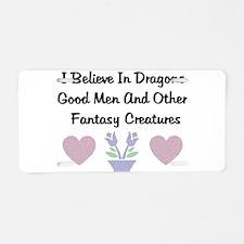 Fantasy Creatures Aluminum License Plate