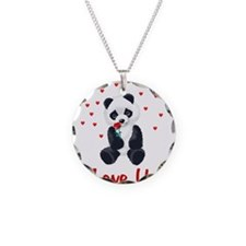 Panda Bear Love Necklace
