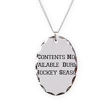 Hockey Season Necklace