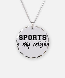 Sports Is My Religion Necklace