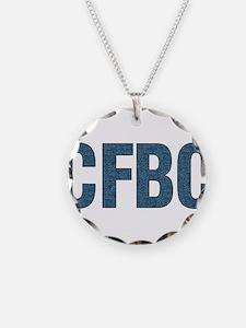 CFBC Blue Logo Necklace