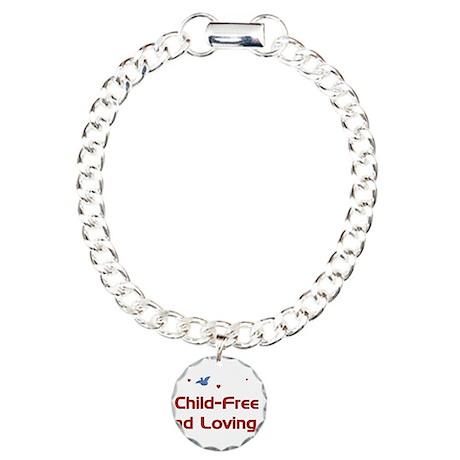 Child Free Charm Bracelet, One Charm