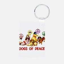 Dogs Of Peace Keychains