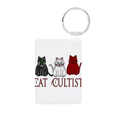 Cat Cultist Keychains